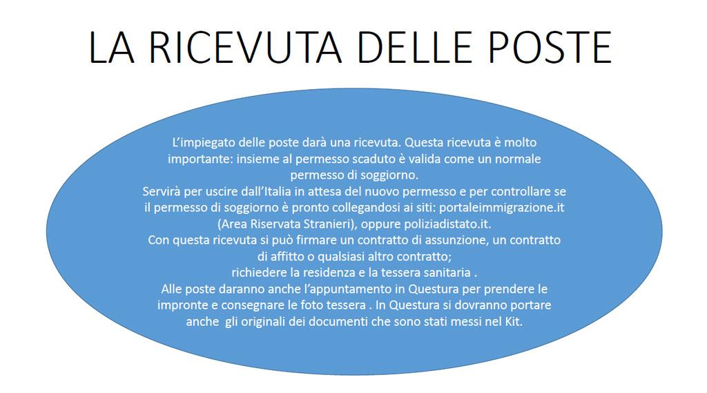 PERMESSO DI SOGGIORNO PER ATTESA OCCUPAZIONE | Benvenuti a ...